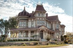 Victorian House in Redlands, CA. It was built in 1890
