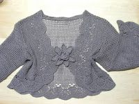 Charming Scarf And Bolero Crochet With Graphic