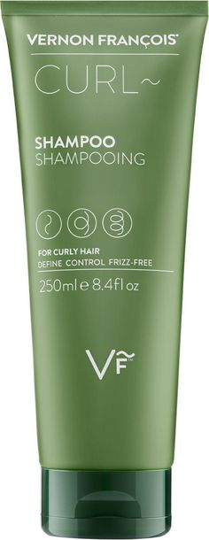 Curl~Shampoo • THIS CONDITIONING SHAMPOO IS ONE OF VERNON FRANÇOIS® BEST PRODUCTS FOR CURLY HAIR AND BEST HAIR PRODUCTS FOR WAVY HAIR.