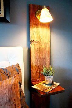 DIY decoration table de chevet: