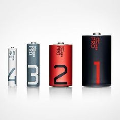 Batteries by Stockholm Design Lab  #product #design #inspiration #industrial #creative #packaging