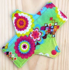 Kaleidoscope - Size 1 - Pantyliner - Maxille Love #maxillelove cloth menstrual pad mama cloth