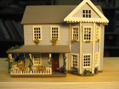 House in 1/144 by goldieholl, via Flickr