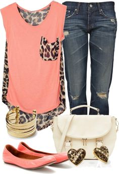 """leopard"" by c-michelle on Polyvore"