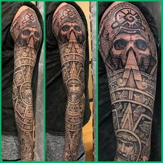 Aztec Tattoo by Ender Marquez