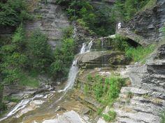 waterfall, ithaca, ny