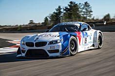 image of BMW Motorsport Media Track Day BMW Z4 GT3 front three quarter in motion 03 750x500