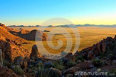 Sunset In The Namibian Desert Stock Photo - Image of environment, hills: 37964316 Desert Sunset, Monument Valley, Deserts, Environment, Stock Photos, Nature, Travel, Image, Viajes