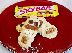 Cloud Cookies: A holiday cookie inspired by Sky Bar candy bars