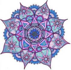 Mandala these things are so neat Mandala Design, Mandala Pattern, Mandala Drawing, Mandala Tattoo, Mandela Art, Fractal Art, Sacred Geometry, Doodle Art, Colouring Pages