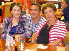 Aeropuerto Satgo Dic 2009, con Lucy