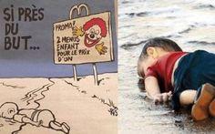 ફ્રેન્ચ મેગેઝિન 'ચાર્લી એબ્દો'ની ઓફિસ પર ગયા વર્ષે આતંકવાદીઓએ હુમલા કર્યા હતા.http://www.vishvagujarat.com/charlie-hebdo-comes-under-fire-for-publishing-controversial-refugee-cartoon/