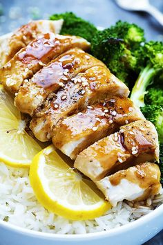 Lemon Teriyaki Chicken | Creme de la Crumb #Chicken #Teriyaki