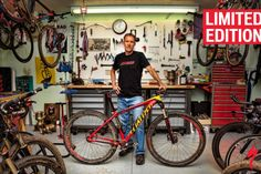 Specialized limitata Carve NED Overend -Shop