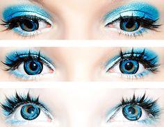 True Sapphire Blue Eyes