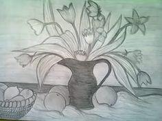 Kolay karakalem calismalari vazo karakalem çalışmaları kolay.