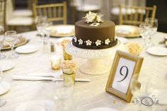 Cake as centerpiece