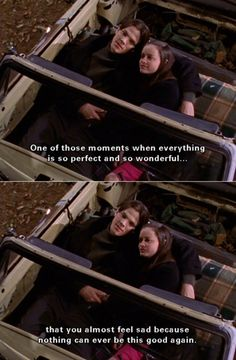 Gilmore Girls.... one of those moments