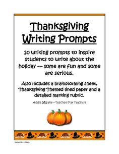 Thanksgiving food essay