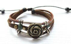 Love this bohemian style bracelet.....