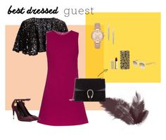 """""""Winery"""" by ratuts on Polyvore featuring Ariella, Goat, Tom Ford, Gucci, Lipstick Queen, Michael Kors, Givenchy, napa, winerywedding and bestdressedguest"""