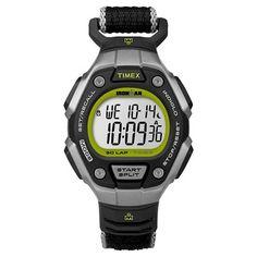Women s Timex Ironman  Classic 30 Lap Digital Watch with Fastwrap  Nylon  Strap - Black fd7d71a85
