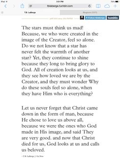the stars must think us mad Christian Life, Christian Quotes, Spiritual Encouragement, In Christ Alone, All That Matters, Jesus Freak, Bible Verses Quotes, Spiritual Inspiration, Beautiful Words