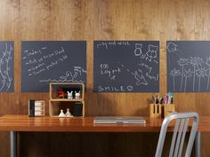 removable wall chalkboard decals!!