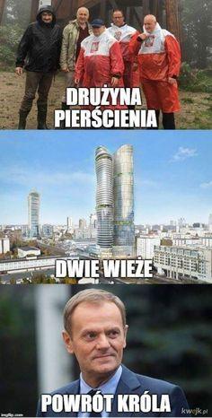 Trylogia Kaczyńskiego - Tolkien by się uśmiał Funny Mems, Bad Memes, Wtf Funny, Tolkien, The Hobbit, Funny Images, Funny Animals, I Am Awesome, Thats Not My
