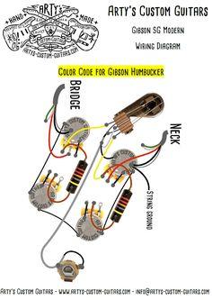 wiring diagram gibson sg modern www artys-custom-guitars com