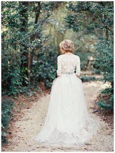 Gorgeous Wedding Gown Trains - Wedding Photo Blog | Wedding ...