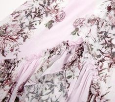 6607b9dd09eff Moonblossom Floral Hi-Low Mermaid Skirt