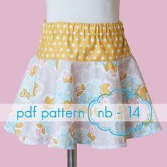 Image result for girls skirt pdf pattern