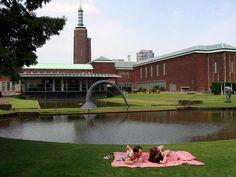Rotterdam, museum Boymans van Beuningen, 13-7-2013