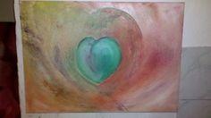 Geschenk für meine Tochter -acrylic on canvas 70x50