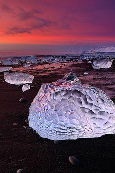 Ice Shapes, Iceland