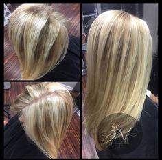 Blonde Balayage @znevaehsalon #balayage #hairpainting #knoxvilletn