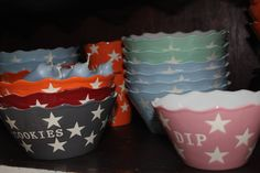 Happy Bowls: Cookies und Dip