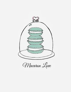 Macaron Love free printable