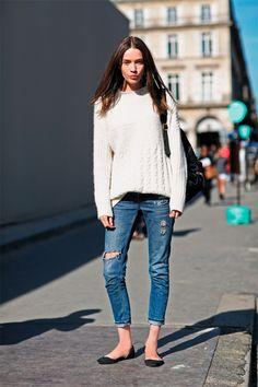 Warum der Knöchel das neue Décolleté ist - Mode-Blog