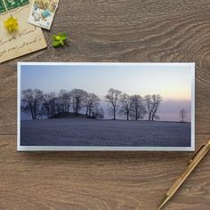 Single Blank Card by landscape photographer Nina K Claridge – Windermere at Dawn