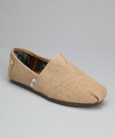 Beige Flax Slip-On Shoe by Shoes of Soul on #zulily