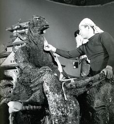 """""""Smokin' in a G suit is what Haruo Nakajima does best"""""""
