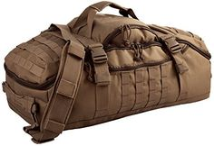 Red Rock Outdoor Gear Traveler Duffle Bag Dark Earth    #SportGears