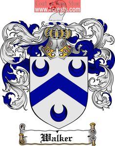 Nash family crest nash coat of arms digital download arms and walker coat of arms walker family crest altavistaventures Image collections
