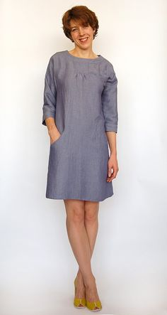 must get some Lisette patterns - this dress is gorgeous! and love Heather Ross' post...