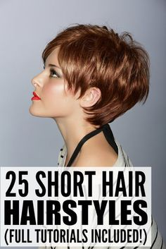 25 Short Hair Styles For Women | DIY Beauty Fashion