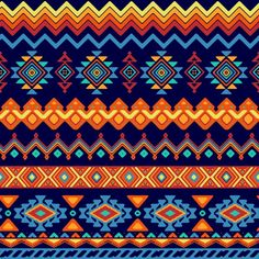 african vector ethnic pattern colorful designs and patterns abstract patterns colorful tribal pattern traditional japanese patterns African Tribal Patterns, Ethnic Patterns, Shape Patterns, African Art, Print Patterns, Native American Patterns, Arte Tribal, Tribal Art, Tribal Prints