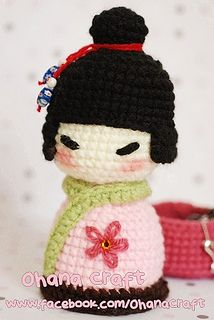 kokeshi doll-03 by Ohana Craft, via Flickr