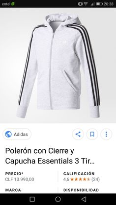 Adidas Jacket, Athletic, Hoodies, Sweaters, Jackets, Fashion, Cowls, Down Jackets, Athlete